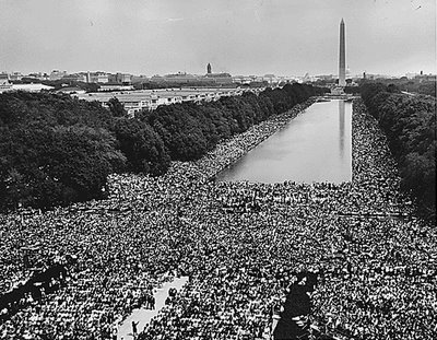 A Washington protest march
