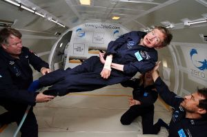 Stephen Hawking Credit: NASA