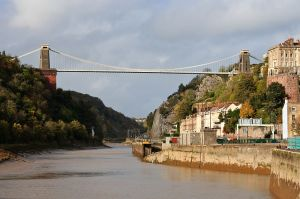 Clifton Suspension Bridge, Bristol, England. CC. Author: Gothick